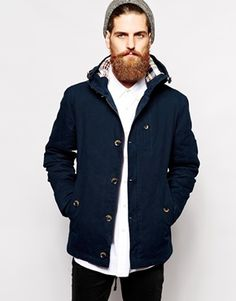 Buy Parka London Hudson Jacket at ASOS. With free delivery and return options (Ts&Cs apply), online shopping has never been so easy. Get the latest trends with ASOS now. Parka, Men's Coats And Jackets, Jacket Style, Winter Coat, Fashion Online, Latest Trends, Raincoat, Asos, London