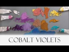 Cobalt Violets - Vicki Norman compares Michael Harding's Cobalt Violet oil colours - YouTube Earth Color, Colour Palettes, Violets, Norman, Cobalt, Color Mixing, Tutorials, Colours, Oil