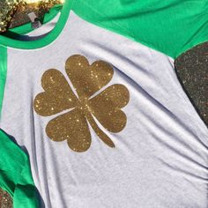 Shamrock raglan shirt, Unisex, Customize Your Color, St Patricks Day Shirt, Funny Tank Top, Drinking Tank Top, St Patrick's Tank