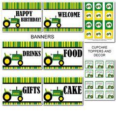 Free printable john deere tractor birthday invitation pinterest tractor stuff to print filmwisefo
