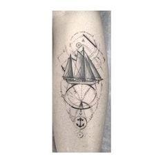 tiny sailboat tattoo - Google Search