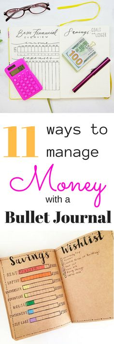 Budgeting tips for your planner or Bullet Journal! Tons of examples! #bulletjournaling #budget