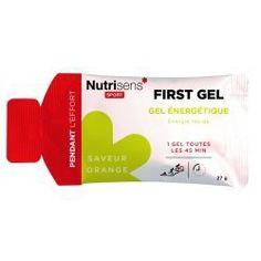 Gel Energétique First Gel Orange 27g GO2 Nutrisens Sport