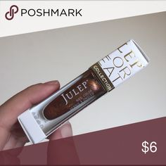 New Julep Bronze Nail Polish New in box Julep Color Treat Birthstone Collection nail polish in the shade Louisa May - Citrine, a pretty bronze color. The glitter flecks are in gold/champagne and shift pink. Not swatched as to not open the package. Julep Makeup