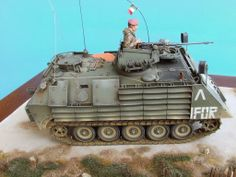 Italian VCC 1 with EAAK Ballistic protections 1/35 Scale Model