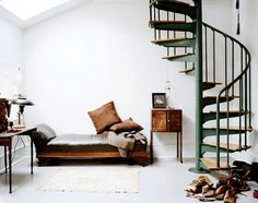 French By Design: spiral staircase