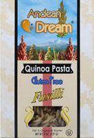 Andean Dream Gluten Free Organic Quinoa Pasta Fusilli