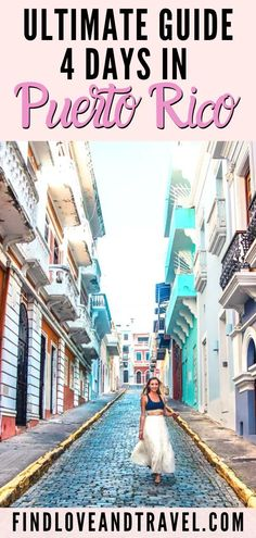 This Puerto Rico guide covers the best things to do in Old San Juan, Road trip through Ponce, Rincon, Cabo Rojo, see waterfalls in Puerto Rico, best beaches, where to eat, Puerto Rico travel tips, off the beaten path and so much more in this 4 day Puerto Rico travel guide #puertorico #caribbean #oldsanjuan #sanjuan | Puerto Rico travel | Puerto Rico best things to do in | Puerto Rico Itinerary | Puerto Rico Guide | Old San Juan | San Juan things to do in | puerto rico travel tips | Ponce Travel Guides, Travel Tips, Travel Destinations, New Travel, Travel Usa, North America, Latin America, Central America, El Yunque National Forest