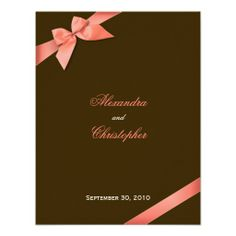 >>>Coupon Code          	Coral Red Ribbon Wedding Announcement           	Coral Red Ribbon Wedding Announcement in each seller & make purchase online for cheap. Choose the best price and best promotion as you thing Secure Checkout you can trust Buy bestShopping          	Coral Red Ribbon Weddi...Cleck See More >>> http://www.zazzle.com/coral_red_ribbon_wedding_announcement-161660469968178823?rf=238627982471231924&zbar=1&tc=terrest