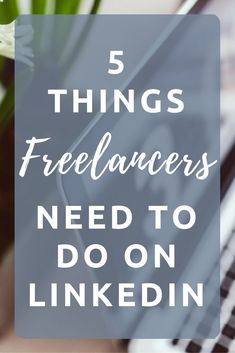THINGS FREELANCERS NEED TO DO ON LINKEDIN 5 things freelancers need to do on linkedin. Are you using linkedin to its full things freelancers need to do on linkedin. Are you using linkedin to its full potential? Digital Marketing Strategy, Content Marketing, Social Media Marketing, Online Marketing, Social Networks, Marketing Strategies, Business Marketing, Affiliate Marketing, Btob