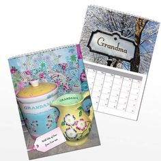 Best Christmas Gift Ideas for Grandma for Christmas 2016 Personalized Gifts For Grandparents, Personalised Gifts, Perfect Christmas Gifts, Christmas 2016, Book Stationery, Beautiful Gifts, Book Gifts, Calendar, Fun