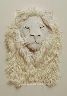 Escultura en Papel de Calvin Nicholls