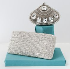 New Lea Black Crystal Evening Bags: M Bridal Salon