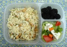Orzo salad lunch