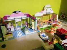 La tienda de animales y la fruteria