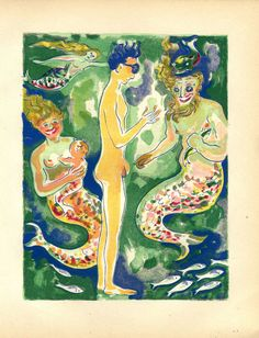 A Thousand and One Nights Kees van Dongen Art by CarambasVintage