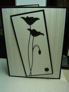 MB Prim Poppy Silhouette by crazysuziestamper - Cards and Paper Crafts at Splitcoaststampers