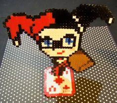 Perler Harley Quinn!