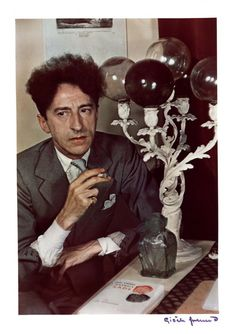 Gisèle Freund (1908-2000), Jean Cocteau, c. 1939