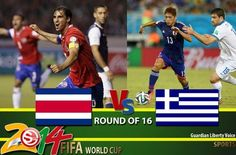 FIFA World Cup Round of 16: Costa Rica v Greece