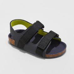 4d9b039f5b7c Toddler Boys  Keenan Footbed Sandals - Cat   Jack™ Navy