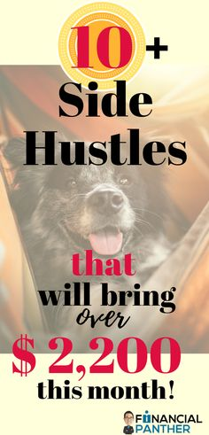 Looking to make some extra cash this month or finally ready to leave your 9 to 5? Our side hustle report has this month's best sides hustles for making that leap into financial freedom! This list of OVER 10 side hustles are how I made over $2,200 in one month! Check out this list of side hustles and even more to start living the financially free life! #sidehustles #debtfree #financialindependence #personalfinance #money #makingmoney #moneyideas