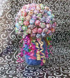 Dum Dum Lollipop Candy Bouquet / Centerpiece by JessieRaeCrochet, $22.00
