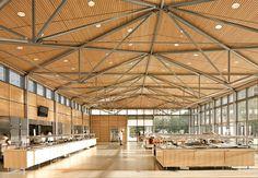 Rice University: New East Servery | Hopkins Architects