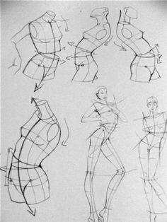Dibujo Anatómico y Figurín de Moda | Bitacoram21