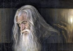 Lord of the Rings Gandalf Painting