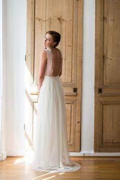 Robe de Mariée : Aurélia Hoang 2014, mariée, bride, mariage, wedding, robe mariée, wedding dress, white, blanc
