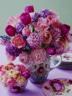 lovely vase and flowers