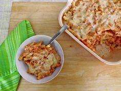 Better-for-You Baked Ziti from @Abu mnsar Saad Network's Healthy Eats