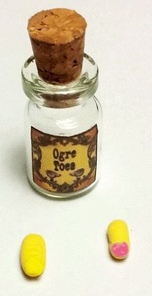 Potion - Ogre Toes | Mary's Dollhouse Miniatures