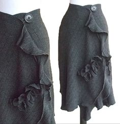 Ruffled Cashmere Wrap Skirt | Flickr - Photo Sharing!