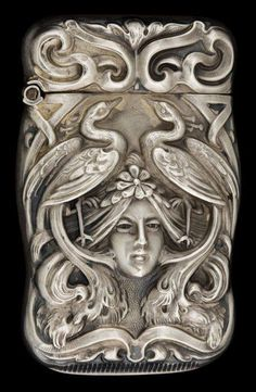 Art Nouveau Matc Safe by Howard &  Co., New York ca. 1900