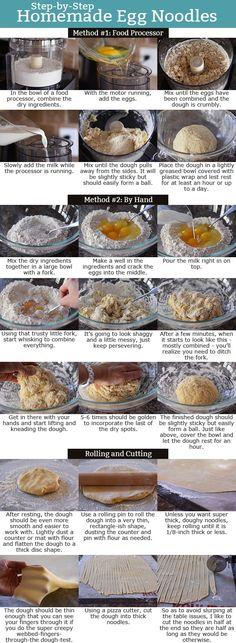 Step-by-Step Homemade Egg Noodles   Mel's Kitchen Cafe