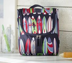Mackenzie Surfboard Toiletry Bag #PotteryBarnKids
