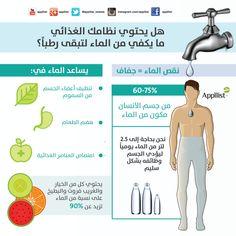 هل يحتوي نظامك الغذائي ما يكفي من الماء لتبقى رطباً؟