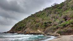 Playa Brava, Tayrona, Colombia.