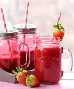 Zumo rojo para perder peso y además llenarte de energía | i24Web