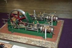 Textile mill engine