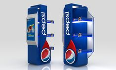 Pepsi Gondola on Behance
