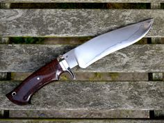 Samuel Lurquin Single Guard, reverse curve-bladed Camp Knife.