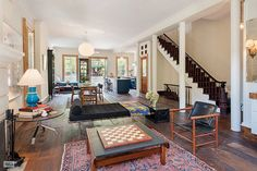 You Can See Inside Michelle Williams' Brooklyn Townhouse #refinery29  http://www.refinery29.com/2014/09/75293/michelle-williams-selling-brooklyn-townhouse#slide1