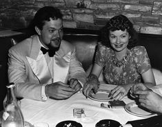 Lucille Ball with Orson Welles
