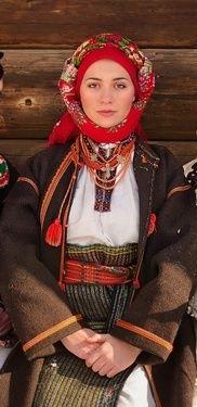 Photo by Anna Senik, http://www.ladna-kobieta.co... Ukraine outfit, from Iryna with love