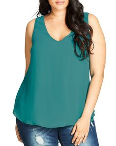 City Chic Date Night Top