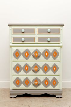 Dressed to Kill Dresser by FoundDesignMiami on Etsy, $350.00