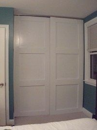 Farmhouse Doors:  I may do this to seal off the playroom or enclose the new closet I built.  Or both. :)